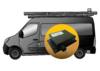 EQTrace-T with ext. antenna: GPS tracker for service vehicles and trucks ...